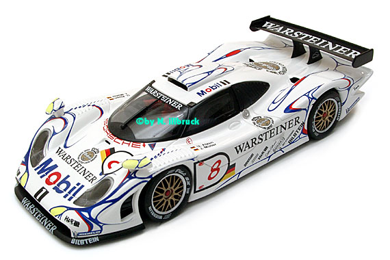 carrera showroom fly porsche 911 gt1 39 98 laguna seca fia gt 1998. Black Bedroom Furniture Sets. Home Design Ideas