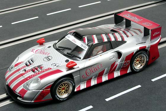 carrera showroom fly porsche 911 gt1 evo germany by s oliver. Black Bedroom Furniture Sets. Home Design Ideas