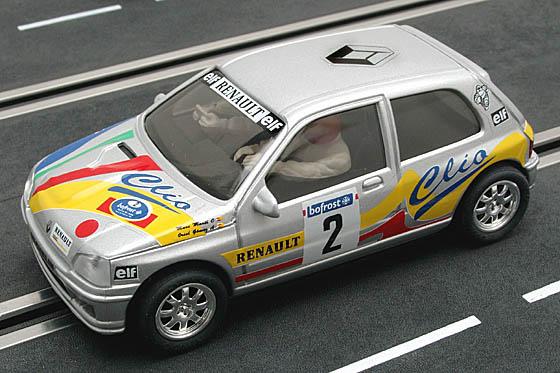 Echange Ninco Renaut Clio Diac Clio-campeon-rally