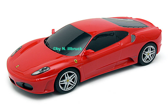 Carrera Showroom C2822 Scalextric Ferrari 430 Gtr Red